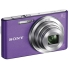 Sony DSC-W830 Cybershot 20.1MP Compact Camera w. 8x Optical Zoom - Violet 20.1MP, ZEISS Vario Sonnar T* Lens, f=4.5-36mm, F3.3(W) - 6.3(T), Super HAD CCD Sensor, Multi-Point AF, Steadshot, USB