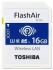 Toshiba 16GB FlashAir W-04 SDHC Memory Card - UHS-I/U3/C10 90MB/s Read, 70MB/s Write